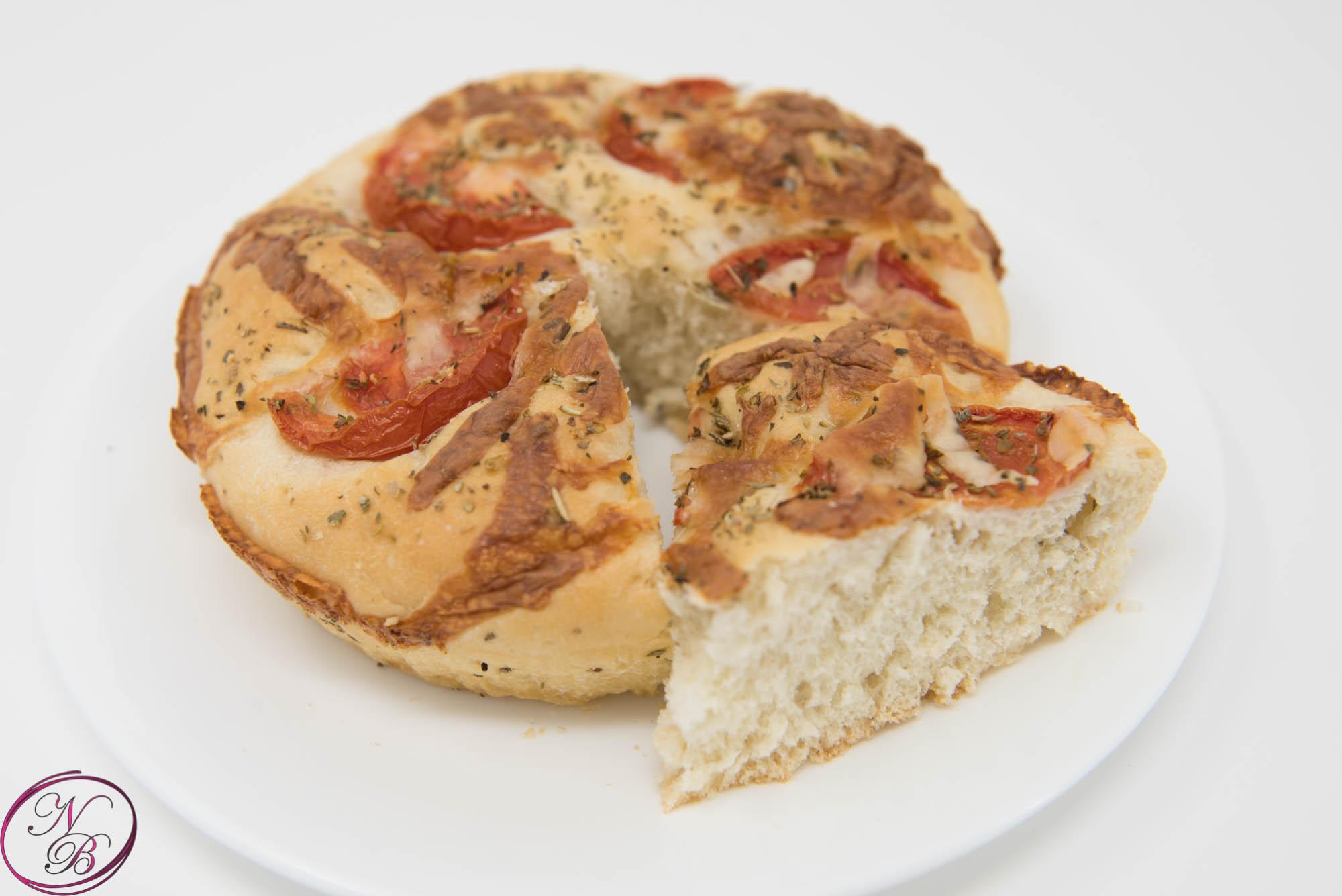 Focaccia Bread (fresh Tomato & Cheese)
