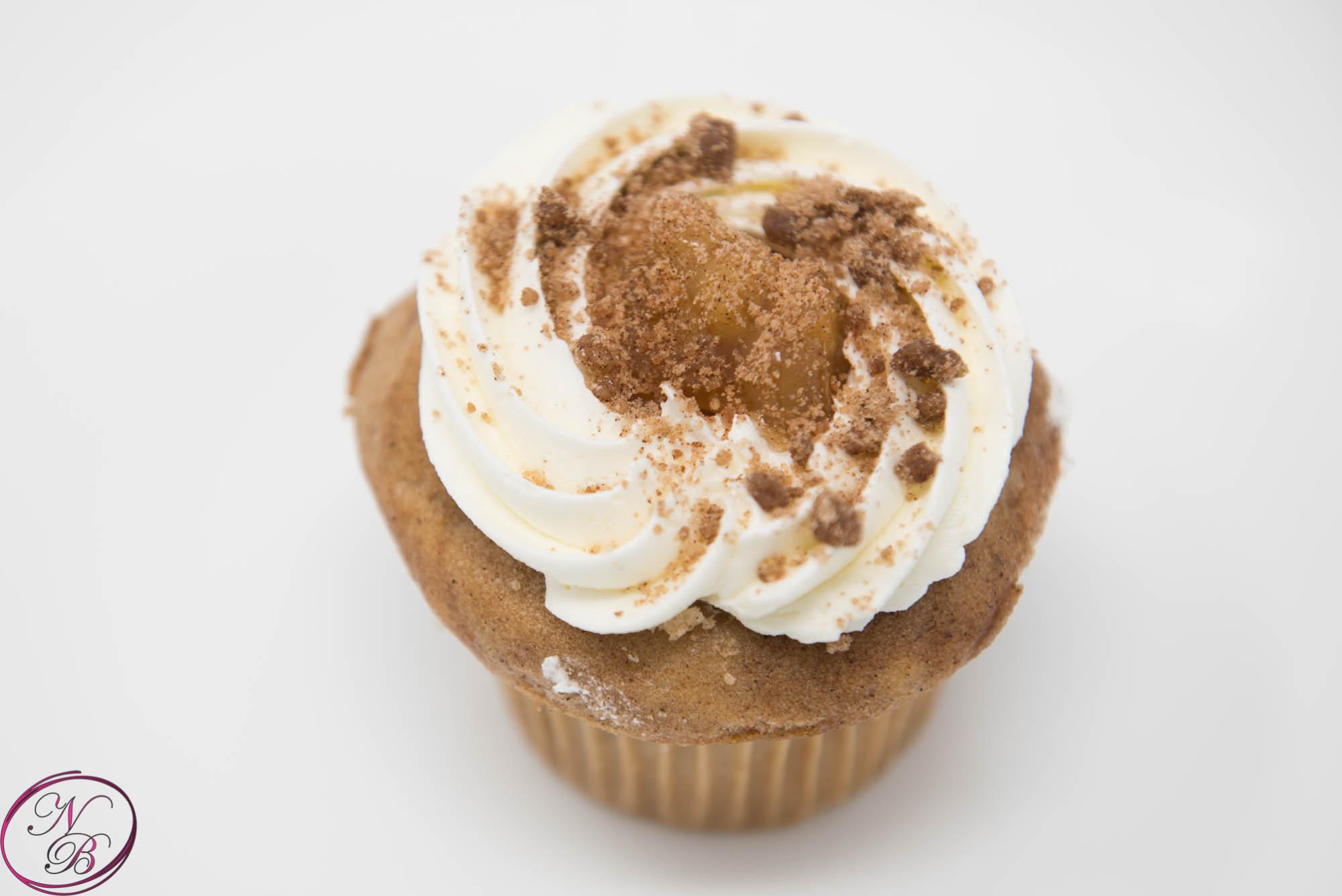 Apple Spice Cupcake (seasonal, Sept-Dec)
