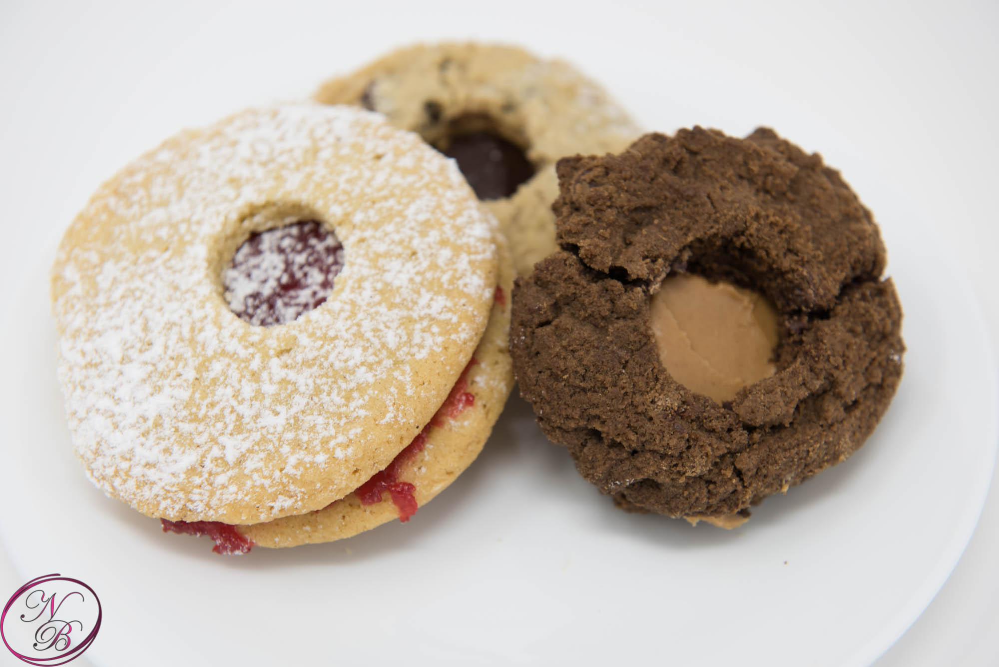 Filled Cookies – 3 Flavors