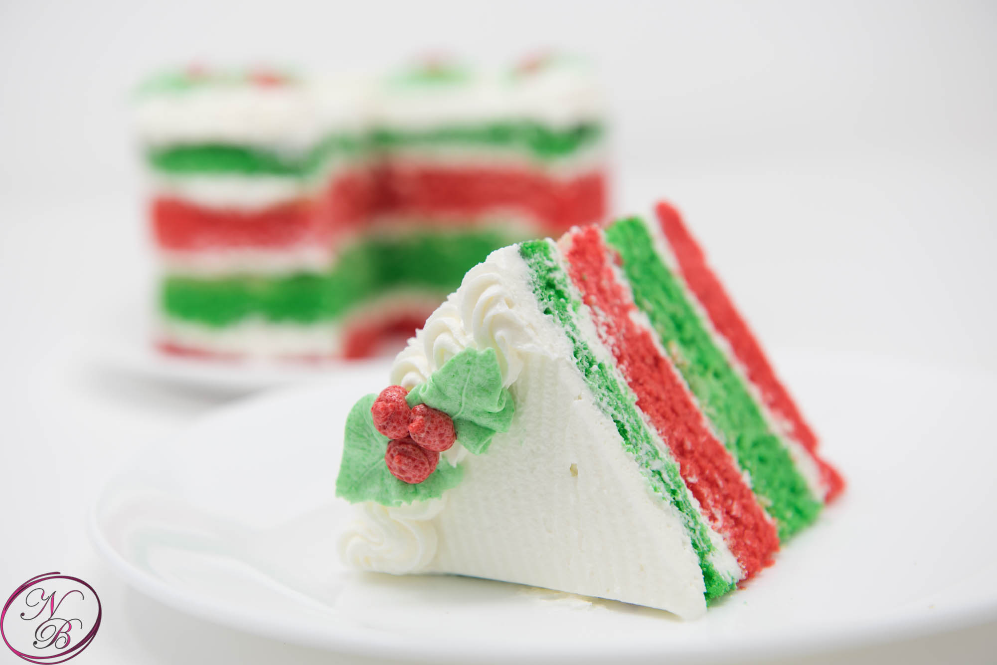 Christmas Sinful Dessert Cake