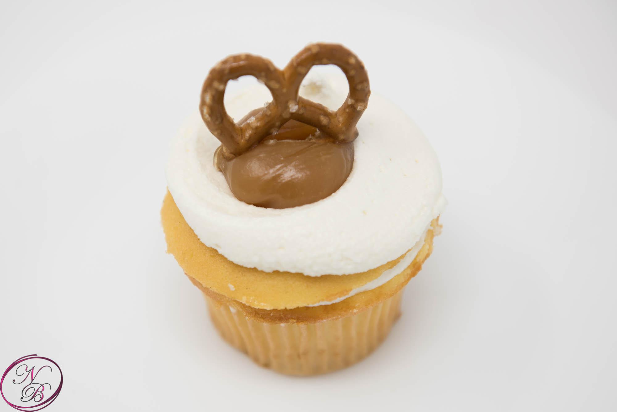 Sea Salt Caramel Cupcake