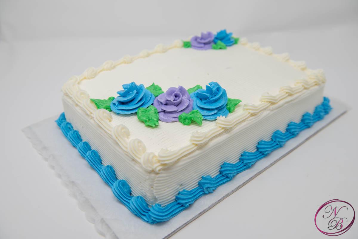 Birthday Cakes W/ Vanilla Frosting – Sheet