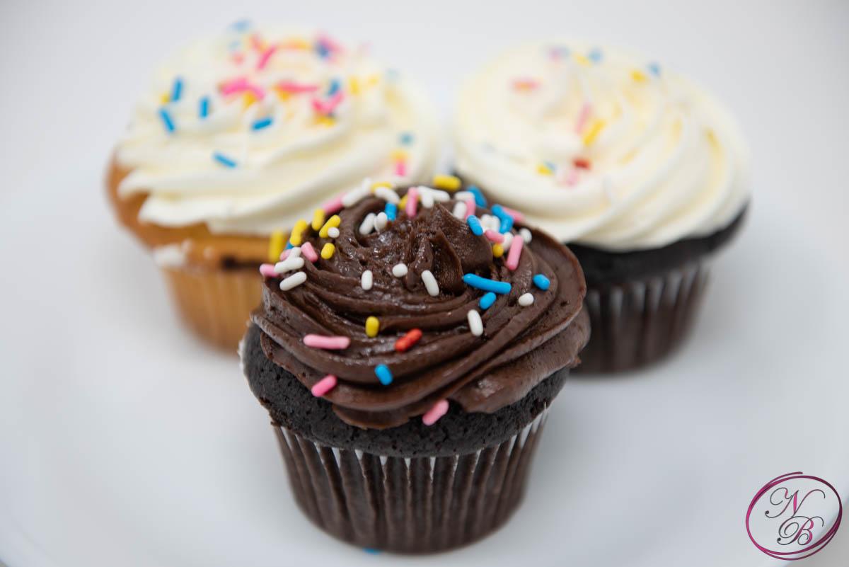 Chocolate W/ Chocolate Frosting Cupcake