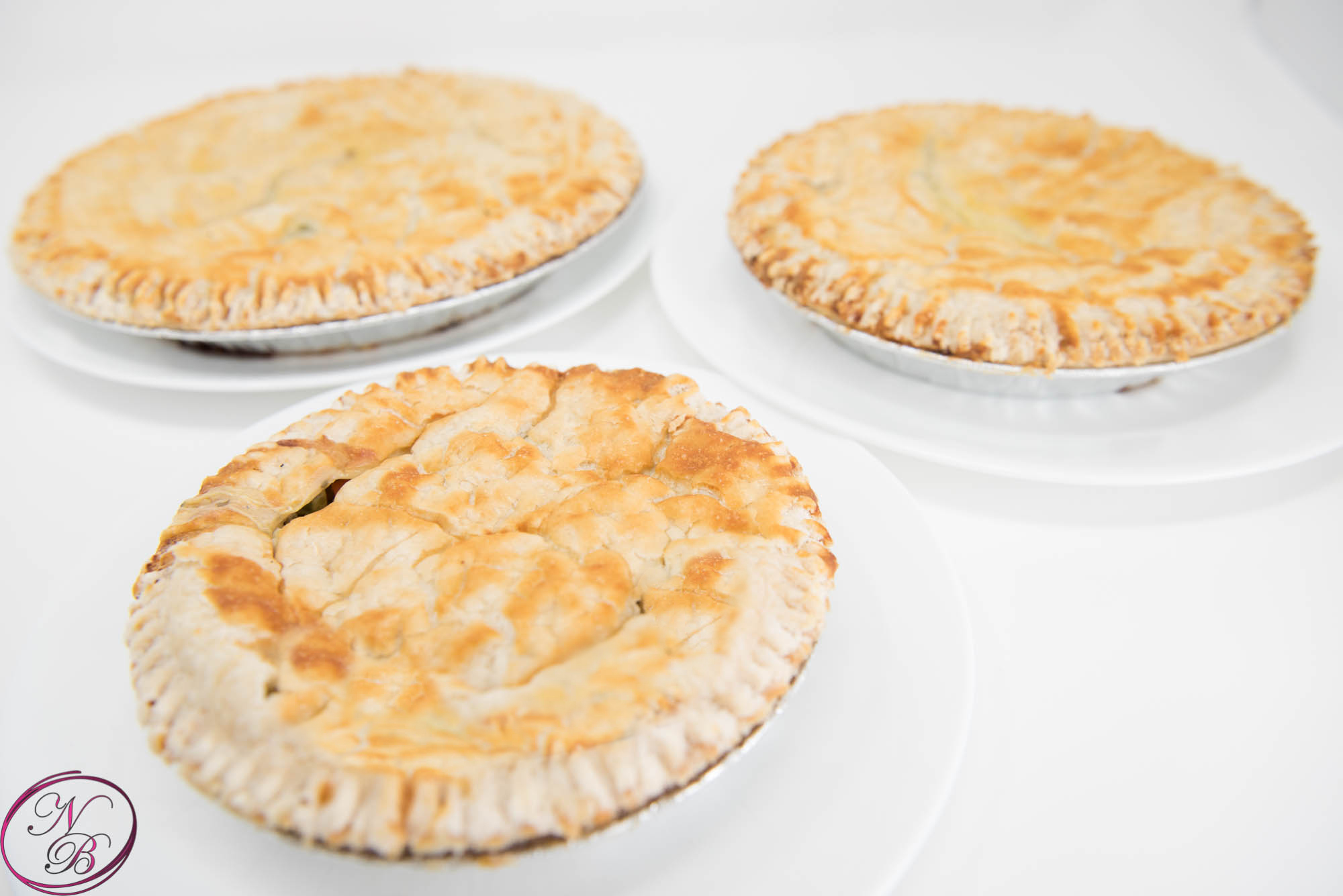 Meat Pies – French, Chicken, Salmon