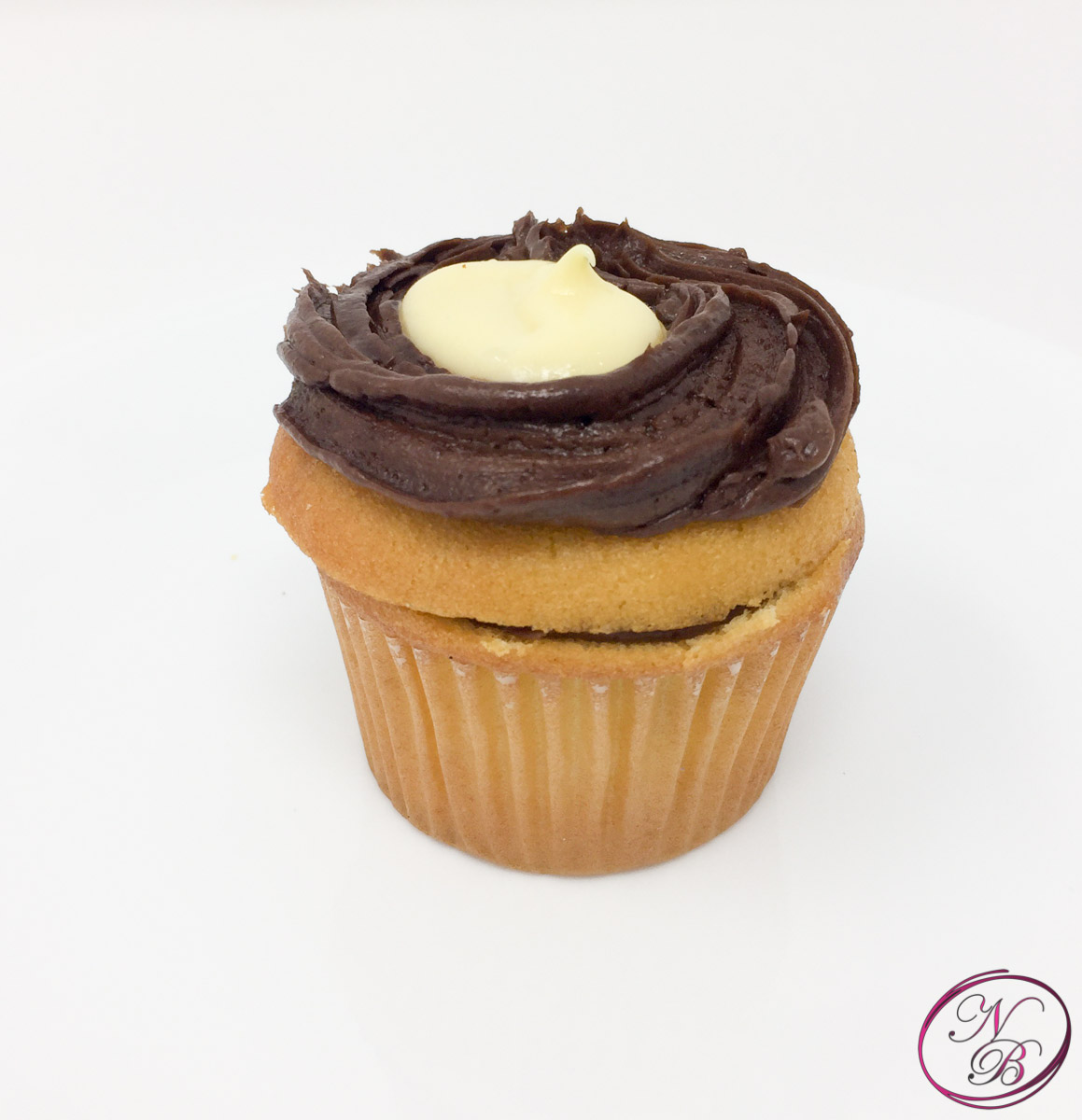 Boston Cream Cupcake