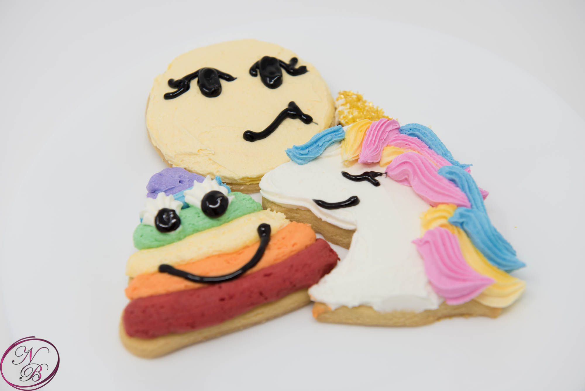 Novelty Shortbread Cookies – Order Of 6